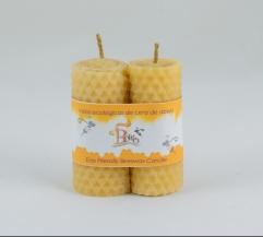Candelas de cera de abeja